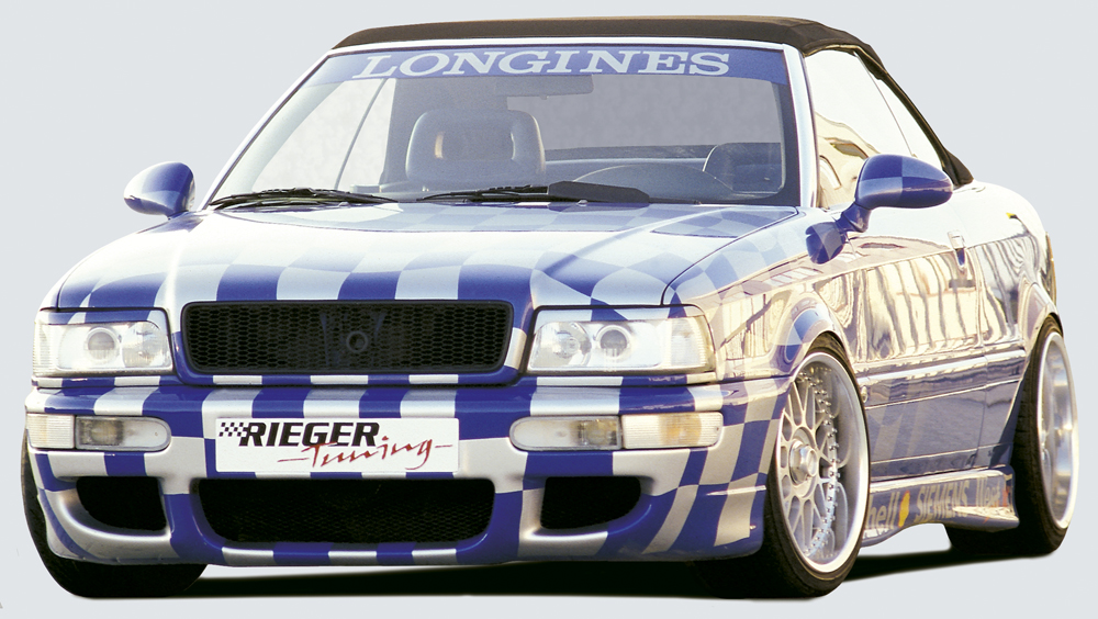 Audi 80: B4 Rieger RS2 Look Front Bumper - ABS [Image 2]