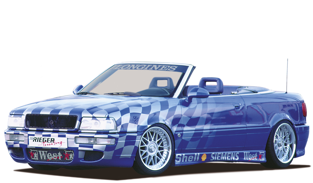 Audi 80: B4 Rieger RS2 Look Front Bumper - ABS [Image4]