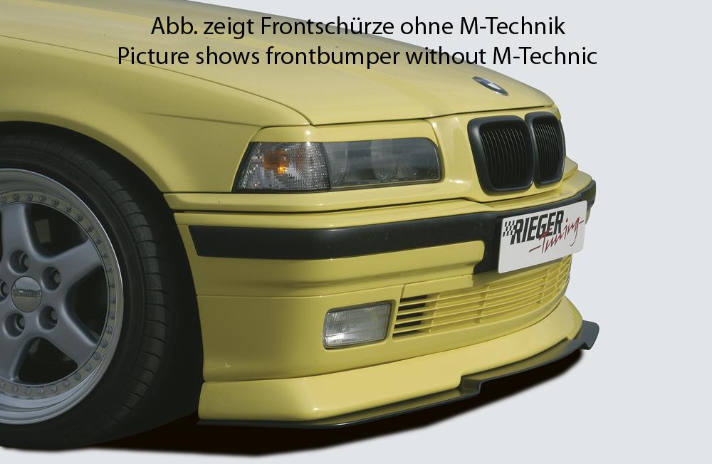 Spoilerlippe GFK,  für Fzg. mit M-Technik, Gutachten, Montagezubehör