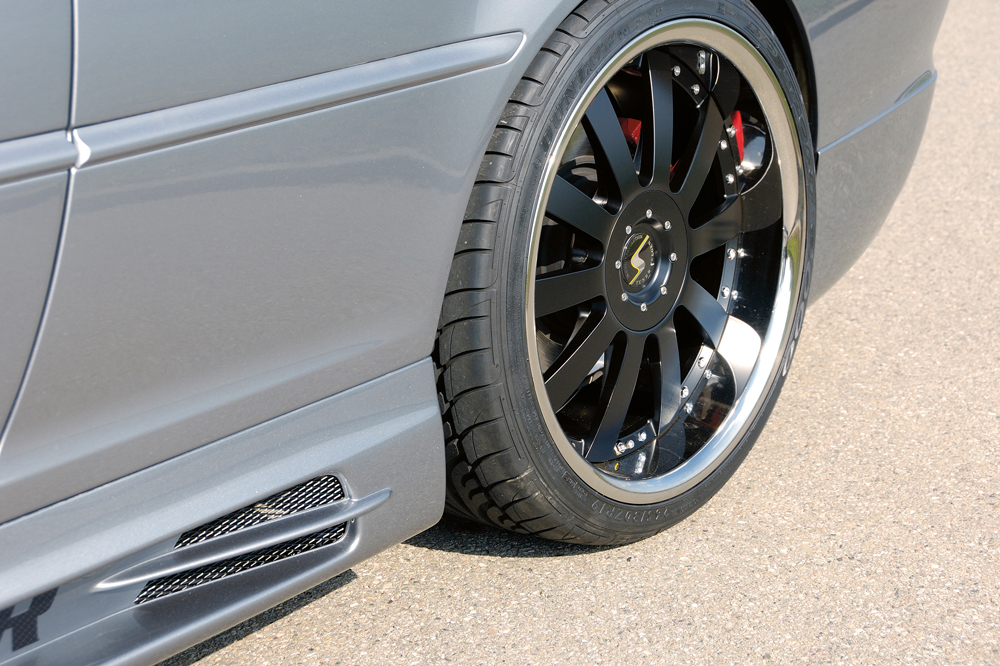 BMW 3 Ser E46 Rieger Vented Side Skirts - ABS [Image 3]