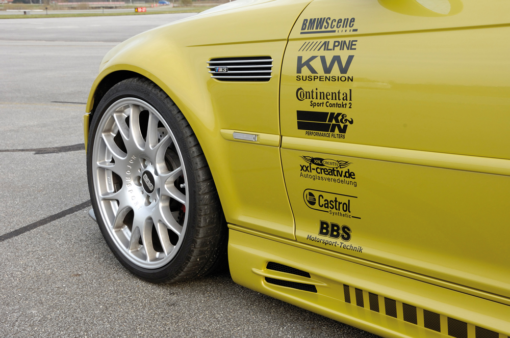 BMW 3 Ser E46 Rieger Vented Side Skirts - ABS [Image4]