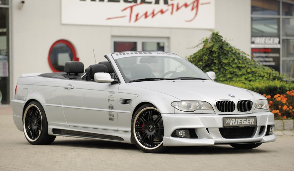 BMW 3 Ser E46 2dr Rieger E92 Look Front Bumper - ABS [Image 3]