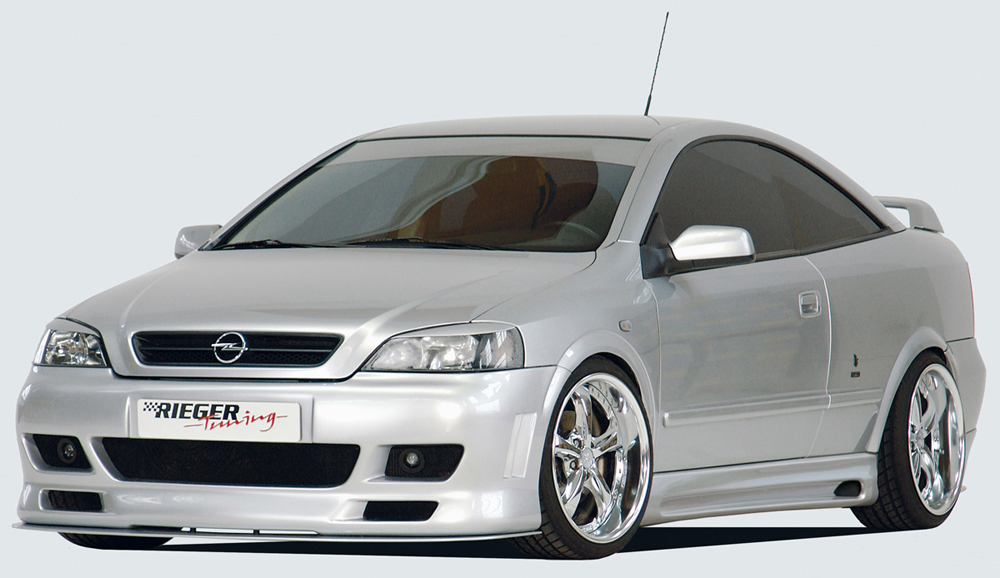 Astra G/Mk4 Coupe & Cabrio Rieger Body Kit - ABS [Image 7]