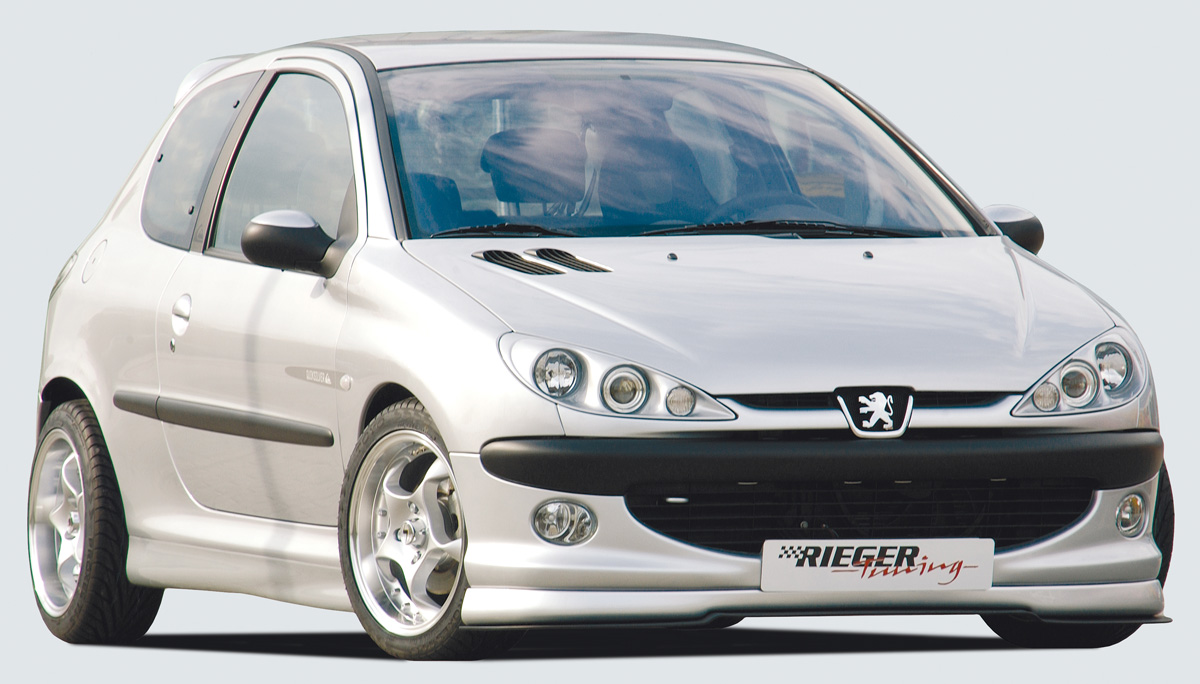 Peugeot 206 CC Cabrio & Hatchback Side Skirts - ABS [Image 2]