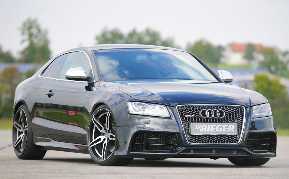 Audi A5/S5 B8:B81 Rieger Side Skirts - ABS [Image 5]