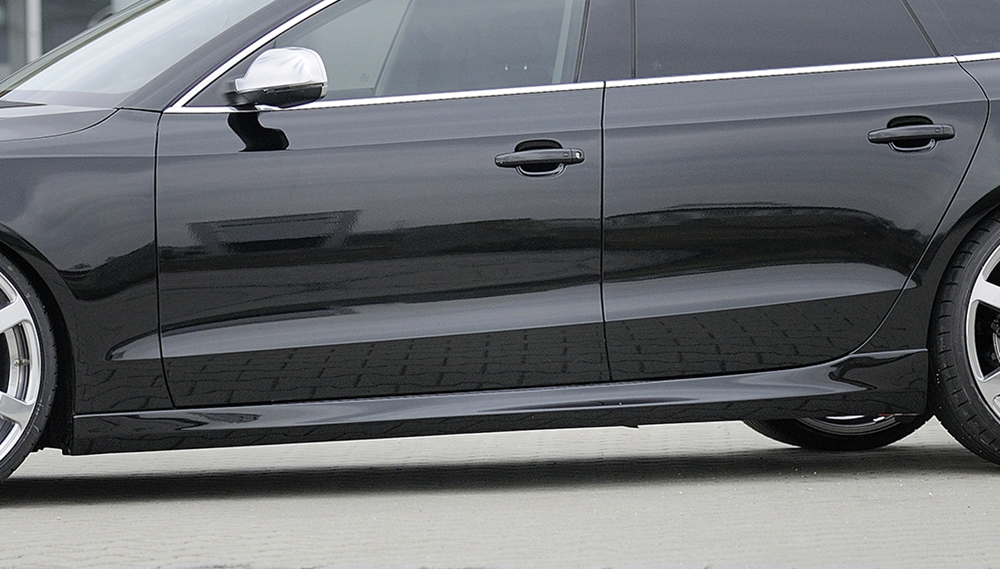 Audi A5 & S5 Sportback (07-) Rieger Side Skirts - ABS [Image 2]