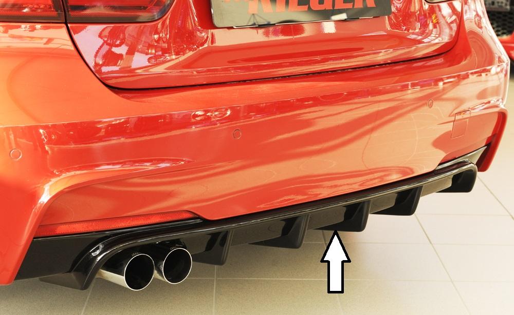 Heckeinsatz schwarz glänzend für Fahrzeuge mit M-Paket Heckschürze für original Doppelendrohr links <p>Heckeinsatzschwarz glänzendfür Fahrzeuge mit M-Paket Heckschürze für original Doppelendrohr links;</p>