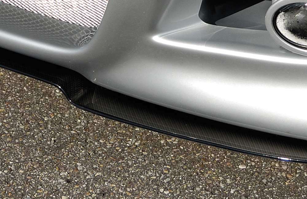 Spoilerschwert M3-Look für Spoilerstossstange, ABS, Carbon-Look, Montagezubehör