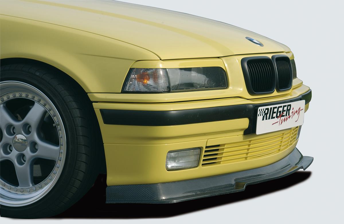 Spoilerlippe mit integr. Spoilerschwert, ABS, Carbon-Look -  für Fzg. mit Serienkarosserie inkl. Gutachten, Montagezubehör