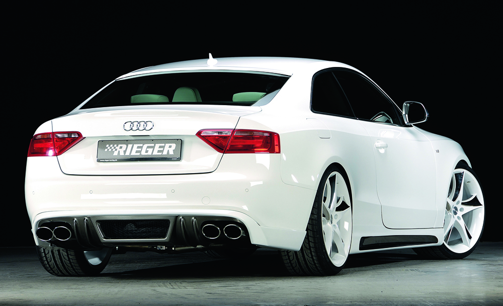 rieger exhaust silencer audi a4 a5 b8 3 0 200kw. Black Bedroom Furniture Sets. Home Design Ideas