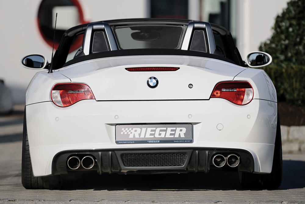 Rieger Exhaust Silencer Left Right