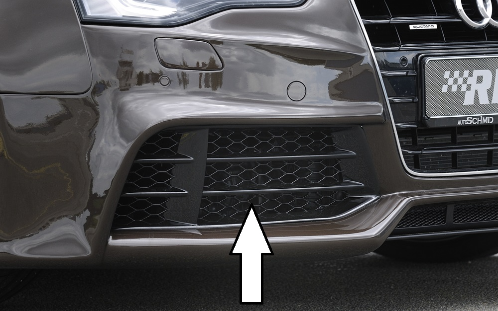 A Left/Right Pair of Front Bumper Intake Covers