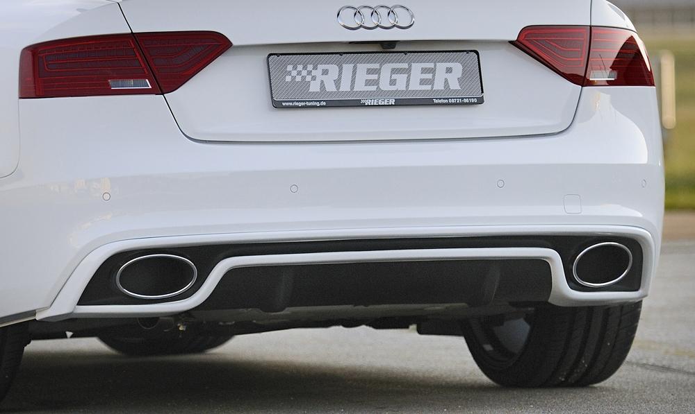 Rieger Exhaust Silencer Audi A4a5 B8b81