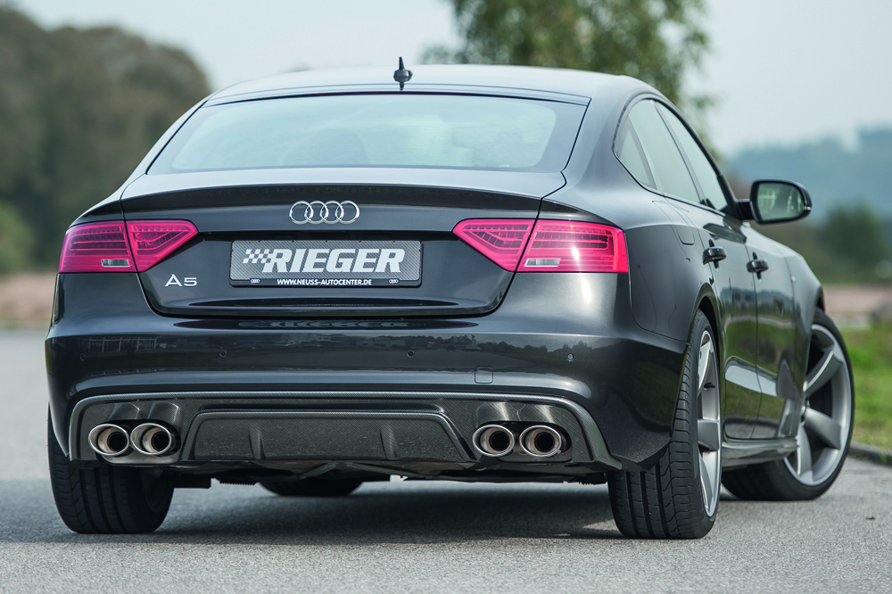 Rieger Exhaust Silencer Left Right Audi A5 B8