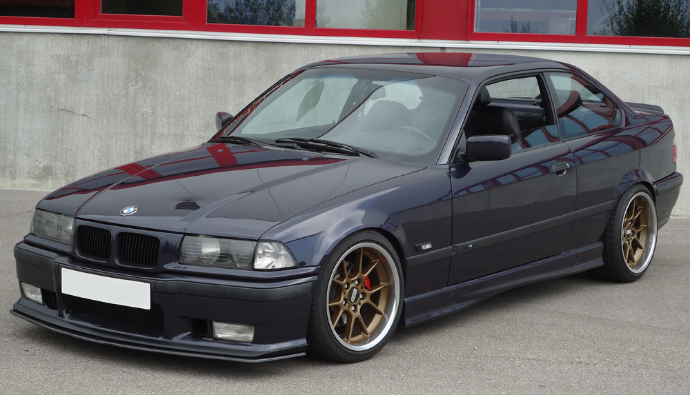 Carbon Front Splitter For BMW E36