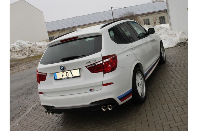 bmw x3 f25 35i 35d endschalld mpfer ausgang rechts. Black Bedroom Furniture Sets. Home Design Ideas