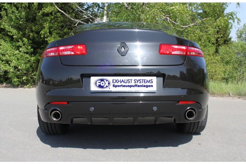Renault Laguna Iii Coupe Endschalldampfer Ausgang Rechts