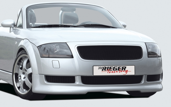 audi tt 8n rieger front bumper spoiler abs audi tt 8n. Black Bedroom Furniture Sets. Home Design Ideas