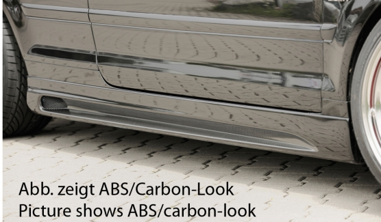 Audi A4 8H B6;B7 (02-08) Rieger Vented Side Skirts - ABS