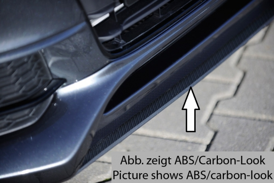 Audi A5:S5 B8:B81 (11-) Rieger Front Splitter - ABS/Carbon