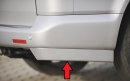 Rieger rear skirt extension
