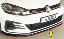 Rieger front splitter only for GTI - TCR