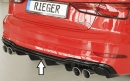 Rieger rear skirt insert