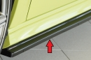 Rieger side skirt approach